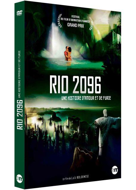 dvdfr rio 2096 une histoire d 39 amour et de furie le test complet du dvd. Black Bedroom Furniture Sets. Home Design Ideas