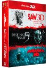 Saw 3D + Destination finale 5 + Piranha 3D (Pack) - Blu-ray 3D