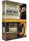 The Homesman + Trois enterrements (Pack) - DVD
