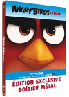 Angry Birds - Le film (Combo Blu-ray 3D + Blu-ray + DVD + Copie digitale - Édition boîtier SteelBook) - Blu-ray 3D