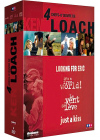 Ken Loach - Coffret - Looking For Eric + Just A Kiss + Le vent se lève + It's A Free World (Pack) - DVD