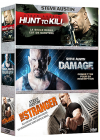 Steve Austin : Hunt to Kill + Damage + The Stranger (Pack) - DVD