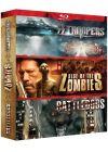 Zombies : Battledogs + SS Troopers + Rise of the Zombies (Pack) - Blu-ray