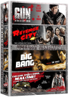 Coffret Vendetta : Gun + Revenge City + The Big Bang + Fais-leur vivre l'enfer, Malone ! (Pack) - DVD