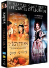 Coffret grand spectacle : Ambre + L'Egyptien (Pack) - Blu-ray