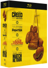 Creed + The Fighter + La rage au ventre + Match retour (Pack) - Blu-ray