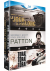 Guerre - Coffret 3 films : Le jour le plus long + Patton + Tora ! Tora ! Tora ! (Pack) - Blu-ray