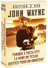 John Wayne - Coffret n° 1 : Panique à Yucca City + La Mine du texan + Justice pour un innocent (Pack) - DVD