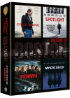 Coffret Welcome To Boston : Strictly Criminal + Spotlight + The Town + Mystic River (Pack) - DVD
