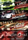 Coffret Action Drive : Red Lined - Gun & Speed + Street Racer + Fast Drive + The Diplomat (Pack) - DVD
