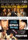 3 grands films de David O. Russell : American Bluff + Happiness Therapy + Fighter (Pack) - DVD