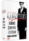 Collection Gangsters - Coffret - American Gangster + Scarface + L'impasse + Public Enemies (Pack) - DVD