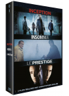 3 films réalisés par Christopher Nolan : Inception + Insomnia + Le Prestige (Pack) - DVD