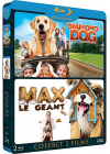 Animaux en folie : Diamond Dog : chien milliardaire + Max le géant (Pack) - Blu-ray