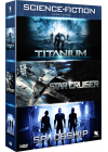 Science-Fiction n° 1 : Titanium + Spaceship + Star Cruiser (Pack) - DVD