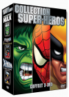 Collection Super-Héros - L'Incroyable Hulk + Spider-Man contre Docteur Octopus + X-Men 2, Le retour de Wolverine - DVD