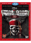 Pirates des Caraïbes, la fontaine de jouvence (Combo Blu-ray 3D + Blu-ray + Copie digitale) - Blu-ray 3D