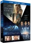 Coffret : Premier contact + Passengers + Life (Blu-ray + Copie digitale) - Blu-ray