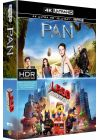 Pan + La grande aventure Lego (4K Ultra HD + Blu-ray + Digital UltraViolet) - Blu-ray 4K
