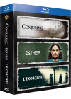 Conjuring : les dossiers Warren + L'exorciste + Esther (Pack) - Blu-ray