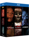 Conjuring : les dossiers Warren + Annabelle + L'exorciste (Pack) - Blu-ray