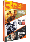 Die Hard 4 : Retour en enfer + From Paris with Love + The Sentinel (Pack) - DVD