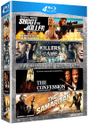 Coffret Assoiffés de vengeance : Shoot the Killer + Killers Game + The Confession + The Samaritan (Pack) - Blu-ray
