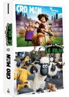 Cro Man + Shaun le Mouton : Le Film (Pack) - DVD