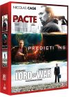 Nicolas Cage - Coffret - Le pacte + Prédictions + Lord of War (Pack) - DVD