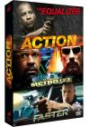 Coffret Action : The Equalizer + L'attaque du métro 123 + Faster (Pack) - DVD