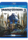 Transformers 3 - La face cachée de la Lune (Combo Blu-ray 3D + Blu-ray + DVD + Copie digitale) - Blu-ray 3D