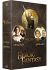 Heroic Fantasy : Legend + Willow + Ladyhawke (Pack) - DVD