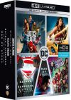 DC Universe - L'intégrale des 5 films : Justice League + Wonder Woman + Suicide Squad + Batman v Superman : L'aube de la justice + Man of Steel (4K Ultra HD + Blu-ray) - 4K UHD