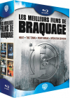 Les Meilleurs films de braquage - Heat + The Town + Point Break + Opération Espadon (Pack) - Blu-ray