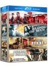 Coffret Guerre : Les 7 salopards + Blood of War + Bunker + Agents de l'ombre (Pack) - Blu-ray
