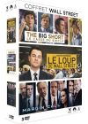 Coffret Wall Street : The Big Short + Margin Call + Le loup de Wall-Street (Pack) - DVD