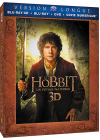 Le Hobbit : Un voyage inattendu (Version longue - Blu-ray 3D + Blu-ray + DVD + Copie digitale) - Blu-ray 3D