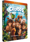 Les Croods (Combo Blu-ray 3D + Blu-ray + DVD - Édition boîtier SteelBook) - Blu-ray 3D
