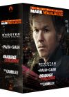 Coffret Mark Wahlberg : No Pain No Gain + The Gambler + Shooter + Braquage à l'italienne (Pack) - DVD