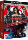 Collection 2 films : Batman v Superman : L'aube de la justice + Man of Steel (4K Ultra HD + Blu-ray) - 4K UHD