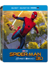 Spider-Man : Homecoming (Édition Limitée boîtier SteelBook - Blu-ray 3D + Blu-ray + Digital UltraViolet) - Blu-ray 3D
