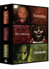 Conjuring : les dossiers Warren + Annabelle + L'exorciste (Pack) - DVD