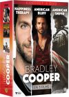 Bradley Cooper en 3 films : Happiness Therapy + American Bluff + American Sniper (Édition Limitée) - DVD