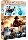 Grands conquérants : Conquest + Red Gallion - La légende du Corsaire Rouge + Drakkar (Pack) - DVD
