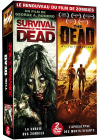 Renouveau du film de zombies : The Dead + Survival of the Dead (Pack) - DVD