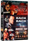 Action - Coffret 3 films : American Yakuza + American Yakuza 2 - Back to Back + Hardcore Fight (Pack) - DVD