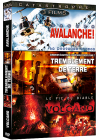 Catastrophe - Coffret 3 films : Danger avalanche ! + Tremblement de terre + Volcano - Le pic du diable (Pack) - DVD