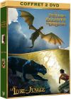 Le Livre de la jungle + Peter et Elliott le dragon (Pack) - DVD