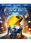 Pixels (Combo Blu-ray 3D + Blu-ray 2D + Digital HD) - Blu-ray 3D