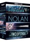 Christopher Nolan - Coffret 3 films : Inception + Interstellar + Dunkerque (4K Ultra HD + Blu-ray + Digital HD) - Blu-ray 4K